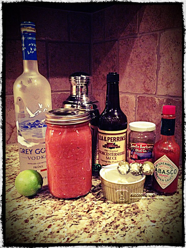 Bloodytini Ingredients WM