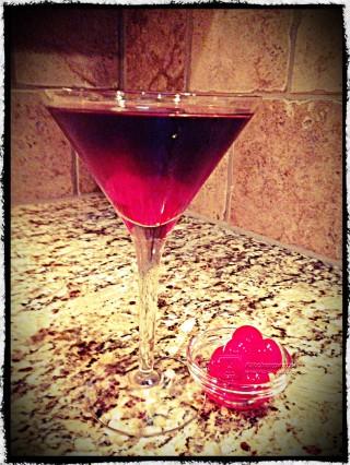 Cherry Coke Martini W